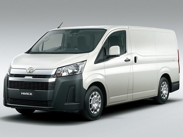 Toyota-HiAce-van