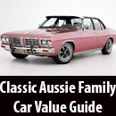 Classic Aussie Family Car Value Guide