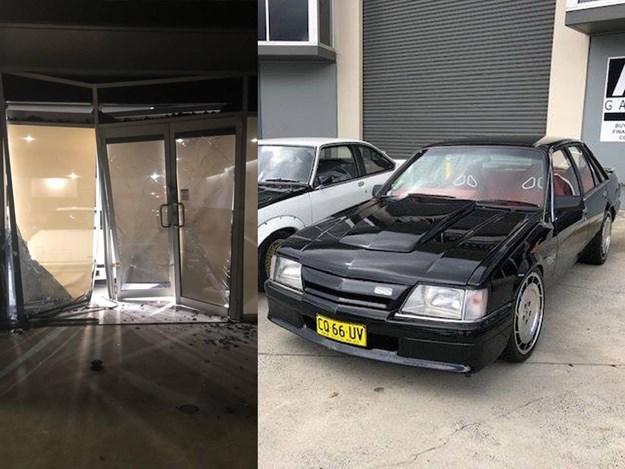 VL Walkinshaw, VN Group A Replica and VK Commodore stolen