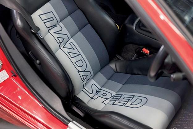 Mazda RX-7 seats