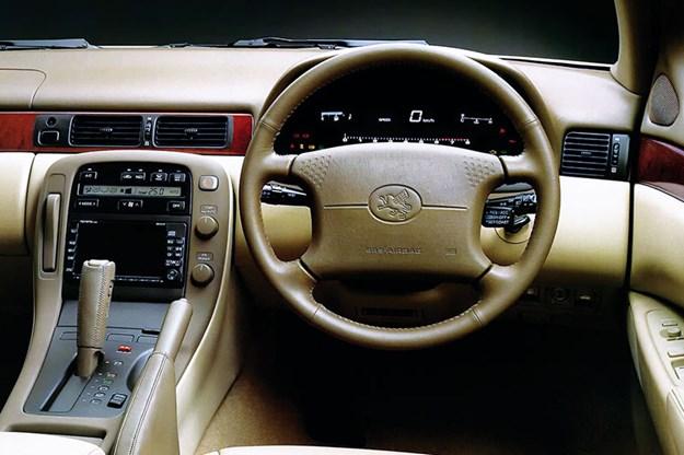 Lexus dash