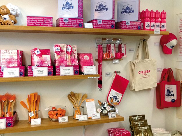 Products for purchase at Chelsea Visitor Centre.jpg