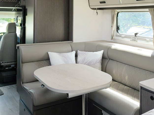 Jayco conquest dinette