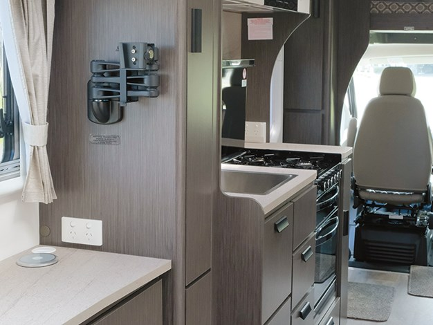 Jayco conquest tv