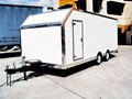 CUSTOM BUILT ALUMINIUM HONEYCOMBE TRAILER