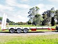 JP TRAILERS BEAVERTAIL TRIAXLE