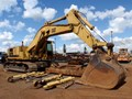 1987 CATERPILLAR 245 *PARTS MACHINE AS IS*
