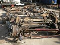 VARIOUS JAPANESE,EUROPEAN,AMERICAN FRONT AND REAR AXLES
