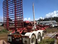 1994 ELPHINSTONE TRIAXLE FOLDING SKEL TRAILER