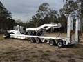 1988 DRAKE 4X8 SWING WING & 2X8 DOLLY HI-TENSILE