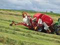 2015 LELY WELGER RPC 245 TORNADO FIXED ROUND BALER WRAPPER COMBINATION
