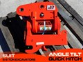 JB ATTACHMENTS U55, KX057 5TON+ EXCAVATORS HYDRAULIC POWER TILTING QUICK HITCH [JB055] [ATTBUCK]