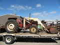 CASE IH 574 TRACTOR (WRECKING PARTS ONLY)