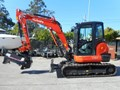 KUBOTA KX57 U57 EXCAVATOR WITH MOWER