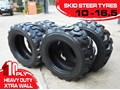 RHINO 10-16.5 SKID STEER LOADER SPARE TYRES - 10PLY XTRA SIDE WALLS [HEAVY DUTY] [20KG] SUIT BOBCATS LOADERS [ATTTYRE]