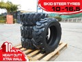RHINO 10-16.5 HEAVY DUTY SKID STEER LOADER SPARE TYRES - XTRA SIDE WALLS [10PLY] [20KG] [ATTTYRE]