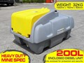 LOCKABLE & SECURE POLY DIESEL FUEL TANK 200L / DIESEL UNIT [DMP200-STD] [TFPOLY] 200L