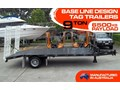 INTERSTATE TRAILERS 9 TON TAG TRAILER Heavy Duty 9 TON Base line Design Tag Trailers - suit SKID STEER LOADERS / EXCAVATOR [ATTTTRAIL]