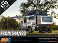 2015 MARKET DIRECT CAMPERS XT-12DB OFF ROAD HYBRID TOURING POP TOP CARAVAN