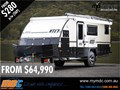 2015 MARKET DIRECT CAMPERS XT-17 OFF ROAD HYBRID TOURING CARAVAN