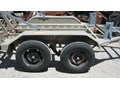 OTHER GALVANISED TANDEM TRAILER FOR 1.5 TONNE EXCAVATOR