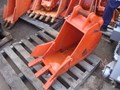 2009 HITACHI GTEX ZX40/50U-3 350MM GP BUCKET