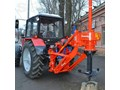 STUMP DRILL TRACTOR MOUNTED STUMP DRILL