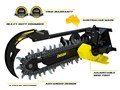 2016 DIGGA 1500 HF BIGFOOT XD TRENCHER