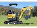 CARTER CT16 YANMAR POWERED MINI EXCAVATOR ZERO SWING