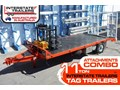 INTERSTATE TRAILERS 11 TON TAG TRAILER ATTACHMENTS PACKAGE 11 TON Heavy Duty Tag Trailers fitted with Attachments package [ATTTTRAIL]