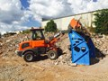 EVERUN EVERUN ER12 WHEEL LOADER WITH 2 BUCKETS AND FORKS