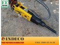 INDECO HYDRAULIC BREAKERS, PULVERIZERS, SHEARS AND COMPACTION PLATES FROM EVERYTHING EARTHMOVING