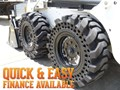 "2016 WORKMATE 12"" SOLID BOBCAT TYRES"