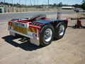 2011 BARKER DOLLY BOGIE AXLE ROAD TRAIN DOLLY