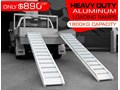 RHINO 1800.KG ALUMINIUM LOADING RAMPS - KANGA / DINGO / BOBCAT / SKID STEER LOADING RAMPS [ATTRAMP] 1800.kg