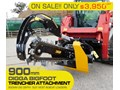 DIGGA 900MM DIG DEPTH HYDRAULIC TRENCHER - BIGFOOT 900 SUIT SKID STEER LOADERS.[ATTTREN] BIGFOOT 900