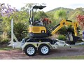 CARTER CT16 MINI EXCAVATOR TRAILER PACKAGE