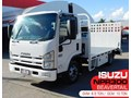 ISUZU NPR300 MEDIUM #2226A ISUZU 155HP NPR300 MED BEAVERTAIL Truck. PAYLOAD 3.5 TON. Low genuine, 288,000 KM [MACHTRUCK]