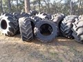 VARIOUS FORESTRY AGRICULTURAL TYRES INCL GOODYEAR OLYMPIC GRIPSTER