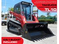 TAKEUCHI #2045 TL10 91HP TRACK LOADER [ONLY 6.3 HOURS] TL-10 / 2 SPEED / NEW 4 IN 1 BUCKET [MACHTAKE] TL10