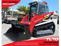 TAKEUCHI #2045C TL-10 91HP TL10 TRACK LOADER [UNUSED 6.5 HRS] / 2 SPEED / NEW 4 IN 1 BUCKET [MACHTAKE] TL10