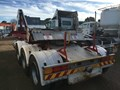 2001 J SMITH & SONS TIPPING BLOWER SKELETAL TRAILER