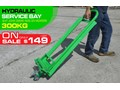 RHINO 300KG LAWN MOWER ATV JACK LIFT / HYDRAULIC SERVICE BAY [MACHOME] HEAVY DUTY LAWN MOWER / ATV SERVICE LIFT 300KG