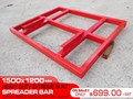 OTHER HEAVY DUTY EXTREME BUILT 1500MM X 1200MM SPREADER BARS / 1500 MM WIDTH LEVELLING BARS ATTACHMENTS [ATTBARS] 1500 mm