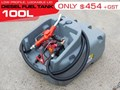 DIESEL UNITS DIESEL FUEL TANK 100L . LOW PROFILE [SQDN100] [TFSLV] 100L
