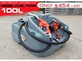 DIESEL UNITS 100L DIESEL FUEL TANK . LOCKABLE FUEL CAP. LOW PROFILE [SQDN100] WITH 12V PUMP , LOCKABLE FUEL CAP [TFSLV] 100L