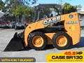CASE SR130 #2128A SR130 SKID STEER LOADER [45.8 HP] [ONLY 5 HRS] [MACHETC]