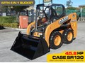 CASE SR130 #2169 CASE SR130 SKID STEER LOADER [45.8 HP] [DEMO ONLY 5.0 HOURS] [MACHETC]