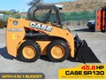 CASE SR130 #2169B SR130 SKID STEER LOADER ONLY 5 HRS [45.8 HP] [MACHETC]