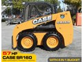 CASE #2131 SR160 TURBO SKID STEER LOADER [57 HP] [UNUSED] [DEMO, ONLY 6.0 HOURS] [MACHETC] SR160